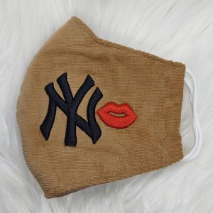 Corteroid tan and black New York Yankees
