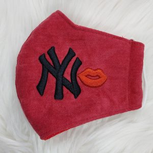 Red and black New York Yankees corteroid