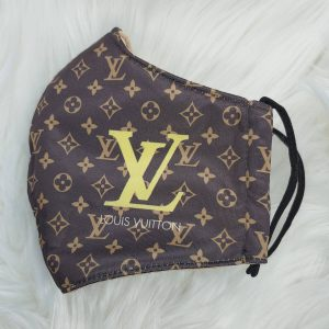 Classic Louis Vuitton with gold LV Louis Vuitton inspired