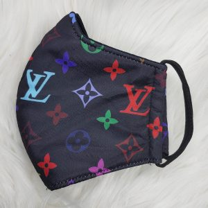 Black multicolor Louis Vuitton inspired