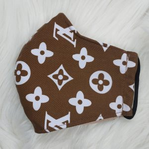 Brown and white extra large LV Louis Vuitton inspired