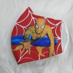 Red squatting Spider-Man