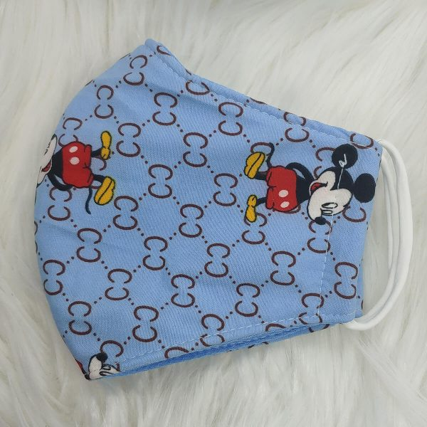 Light blue Gucci inspired Mickey Mouse