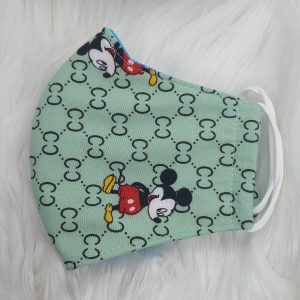Mint Gucci inspired Mickey Mouse