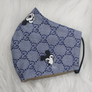 Blue on Blue Gucci inspired Mickey Mouse