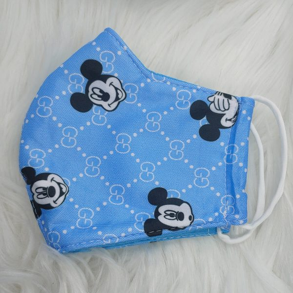 Sky blue Gucci inspired Mickey Mouse