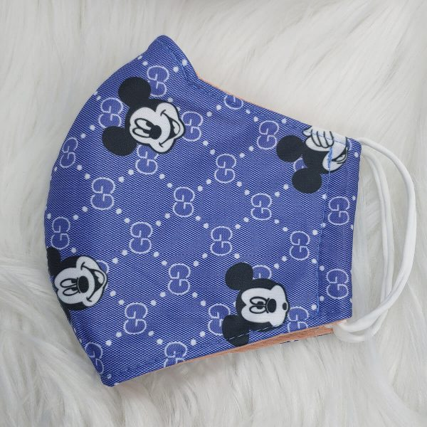 Purple Gucci inspired Mickey mouse