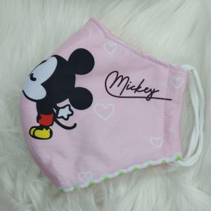 Pink Mickey mouse