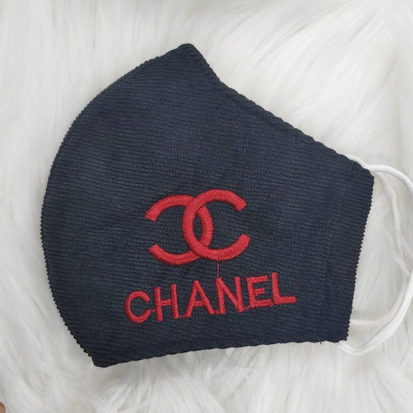 Black with red Gucci inspired logo