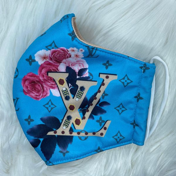 Blue floral Louis Vuitton