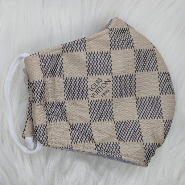 Tan damier Louis Vuitton inspired