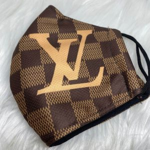 Brown Damier with Gold